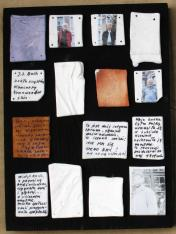 Composition I, or intimate correspondence with 4 men on porcelain pages